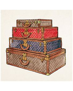 """""""The Royal Luggage"""" by The Oliver Gal Artist Co."""