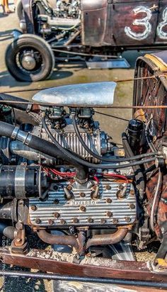 Due to their poor breathing capabilities, a blower is the only way to make serious power with a flathead. Classic Hot Rod, Classic Cars, Retro Cars, Vintage Cars, Hot Rods, Pinstriping, Old Race Cars, Kustom Kulture, Drag Cars