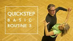 How To Dance Quickstep - Basic Routine 3