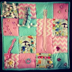 I was recently asked by a lady called Francesca,if I could make her a Fidget Quilt. I had heard of these before but not made any. After a q...