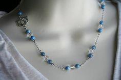 Lapis Lazuli Necklace 420n: Handmade Jewelry Natural Lapis