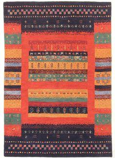 Loribaft Gabbeh  Teppiche  Moderno Tappeto 240 x 170  cm Rugs orient mattan