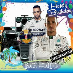 Happy Birthday Lewis Hamilton!!! British Formula One Racing Driver born of Grenadian descent!!! Today we celebrate you!!! @LewisHamilton #LewisHamilton #islandpeeps #islandpeepsbirthdays #FormulaOne #Racecardriver #Grenada