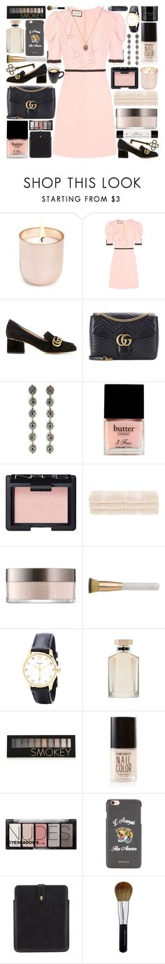 """""""The distance and the difference between us is just illusion"""" by pure-and-valuable ❤ liked on Polyvore featuring Jonathan Adler, Gucci, Butter London, NARS Cosmetics, Superior, Eve Lom, STELLA McCARTNEY, Forever 21, H&M and philosophy"""