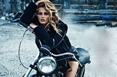 Stunning Edita Vilkeviciute for W Magazine... The Wild One !
