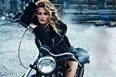 Stunning Edita Vilkeviciute for W Magazine... The Wild One !