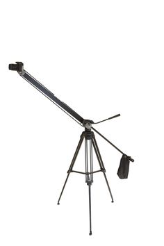 FotoCrane1 is a single arm, lightweight, camera crane for high performance #DSLR cameras up to 2.5 kg.