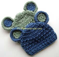 Crochet Baby Hat Baby Boy Hat Baby Girl Hat Baby Hat by Karenisa, $27.00