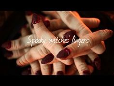 ▶ How to make witches' fingers - Halloween recipe video - YouTube