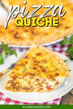 Quiche Recipes, Egg Recipes, Casserole Recipes, Cooking Recipes, Flatbread Recipes, Cake Recipes, Chicken Recipes, Breakfast Dishes, Breakfast Casserole