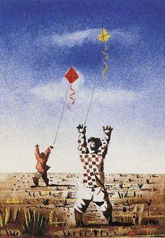 Candido Portinari, Kids and Kites, 1943