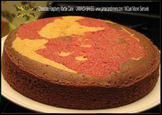 Chocolate Raspberry Marble Cake  - JAMAICA BAKES - JAMAICA DINNERS - MiQuel Marvin Samuels - Jamaican Cake Food