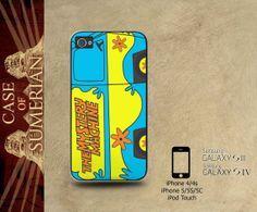 Cartoon Scooby Doo Mystery Van - iPhone cases 4/4S Case iPhone 5/5S/5C Case Samsung Galaxy S3/S4 Case