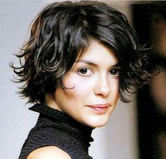 audrey toutou's short hair cut! simple and elegant i suppose