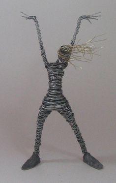 Image detail for -Rachel Ducker - Suspended Mesh Figure - Bevere Gallery, Worcester