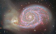 Hydrogen in M51