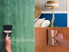Entzuckend Tolle Wandgestaltung Mit Farbe   100 Wand Streichen Ideen | Wabi Sabi Up  The Yin/Yang | Pinterest | Wand, Walls And Wall Blankets