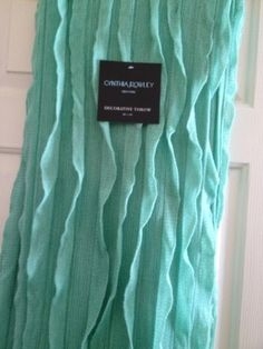 Amazon Com Designer Throw Blanket Cynthia Shades Of Teal
