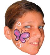 easy Face Painting Ideas | Wowee Creations Face Painting and Temporary Tattoos for kids parties ...