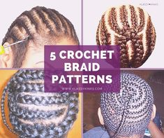 5 of the Best Crochet Braid Patterns | Black Girl with Long Hair