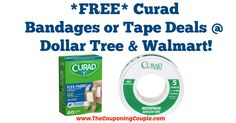 HOT HOT HOT *FREE* Curad Bandages or Tape Deals @ Dollar Tree, Walmart!  Click the link below to get all of the details ► http://www.thecouponingcouple.com/free-curad-bandages-or-tape-deals-dollar-tree-walmart/ #Coupons #Couponing #CouponCommunity  Visit us at http://www.thecouponingcouple.com for more great posts!