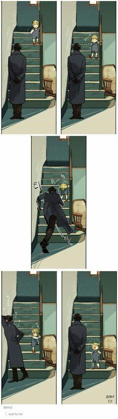 Awwwn, Sherlock worry ♥ or maybe he is just afraid because John might kill him. - Awwwn, Sherlock worry ♥ or maybe he is just afraid because John might kill him if something happe - Sherlock Fandom, Sherlock John, Bbc Sherlock Holmes, Jim Moriarty, Watson Sherlock, Sherlock Holmes Funny, Sherlock Quotes, Detective, Imitation Game