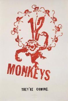 L'ARMÉE DES DOUZE SINGES / TWELVE MONKEYS Film de Terry Gilliam (1995). Affiche non signée (100x70 cm). Imprimée aux États-Unis - Kapandji Morhange - 06/10/2014