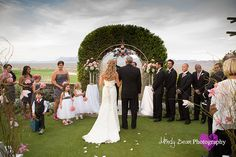 Paiute Las Vegas Wedding Pictures, Paiute Ceremony Site, Father walking daughter down isle, Mindy Bean Photography http://www.mindybeanphotography.com http://www.mindybeanblog.com