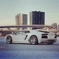 White angel, #Lambo #Aventador