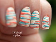 Sugar Spun Nails ~ Paulina's Passions