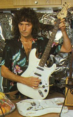 Ritchie Blackmore Net Worth | Ritchie Blackmore, Knebworth, 22nd June 1985