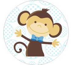 Lucy's baby shower -  boy monkey