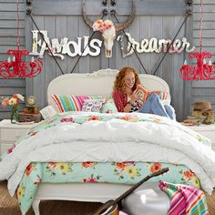 Junk Gypsy Country Blooms Duvet Cover + Sham | PBteen