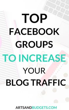 Find out how these Facebook groups increase my blog traffic in this post! - Facebook Groups, Facebook, Increase blog traffic, blog traffic, increase pagegviews