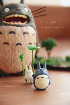 Totoro - j'adore... film d'animation japonais réalisé par Hayao Miyazaki
