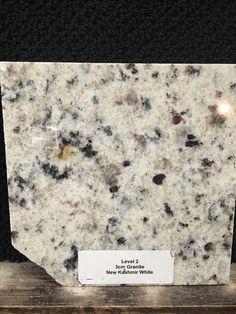 New Kashmir White granite (bullnose) at kitchen and morning kitchen