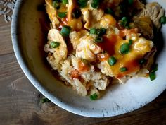 Buffalo Chicken N' Rice - Daily Dose Of Pepper
