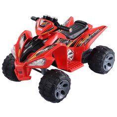Kids Ride On ATV Quad 4 Wheeler Electric Toy Car 12V Battery Power 2 color