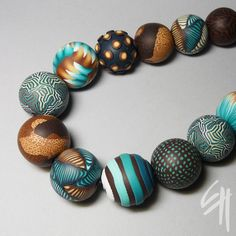 Turquoise Necklace by Eva Haskova via flickr. <3