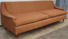 Mid Century Curve Arm Sofa Reupholstery Included!! in Hackensack, New Jersey ~ Apartment Therapy Classifieds