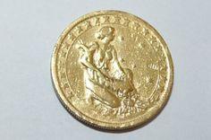 Moeda Antiga, 1.000 Réis, 1925-  anverso (coroa )