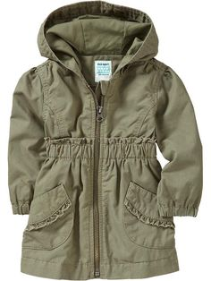 Old Navy | Hooded Twill Jackets for Baby