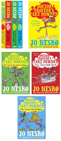 Doctor Proctor! If you need some info on fart powder read these! #illustration #childrensbooks #kidsbooks #bookcovers www.nbillustration.co.uk/mark-beech www.nbillustration.co.uk