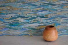 new ravena wave mosaic tile