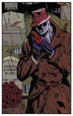 Rorschach in Watchmen #2 (Oct. 1986) - Dave Gibbons & John Higgins