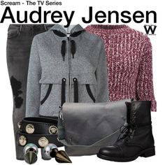 Inspired by Bex Taylor-Klaus as Audrey Jensen on Scream the TV Series.