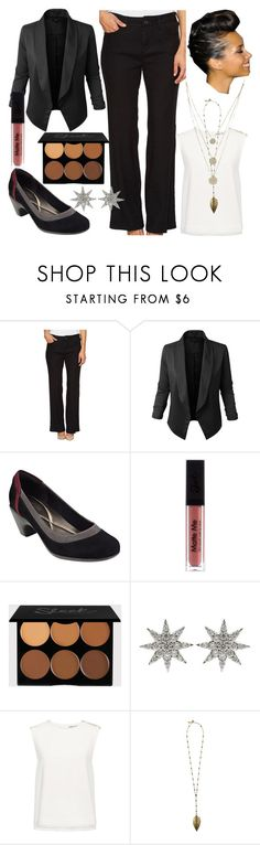 """""""Bawse Outfit No.2"""" by jorelle on Polyvore featuring NYDJ, Jupe de Abby, Easy Spirit, Bee Goddess, Finders Keepers, Boho Gal and Journee Collection"""
