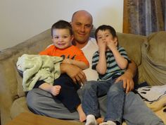 my loving son and my grandsons