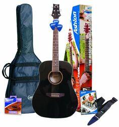 Ashton SPD25BK Guitarra acústica – color negro -  http://tienda.casuarios.com/ashton-spd25bk-guitarra-acustica-color-negro/