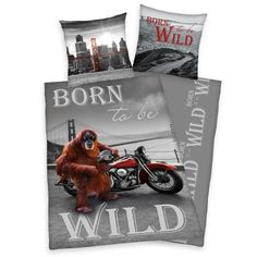Young Collection Bettwäsche Born to be wild
